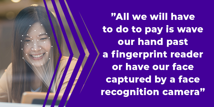 IDEMIA biometric payment