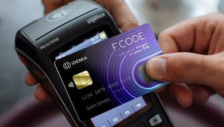 Biometric payment card