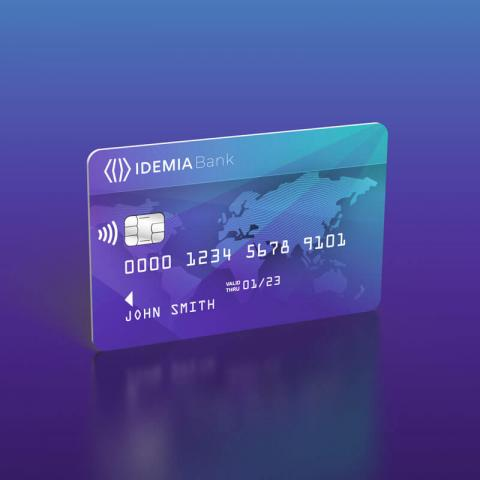 EMV contact and contactless products IDEMIA
