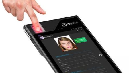 Biometric tablet