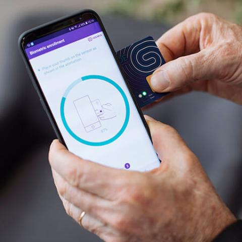 Biometric Enrollment IDEMIA