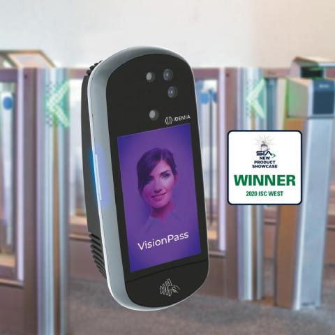 VisionPass facial recognition IDEMIA