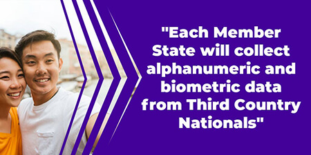 Each Member State will collect alphanumeric and biometric data from Third Country Nationals