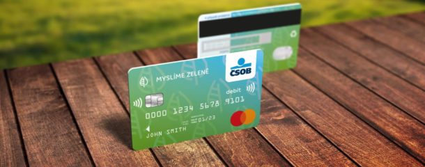 IDEMIA and ČSOB (KBC Group) launch the first ECO PVC card in the Czech Republic