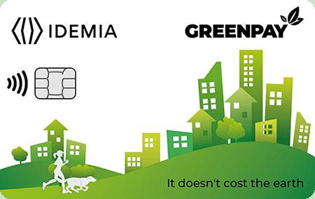 GREENPAY card IDEMIA