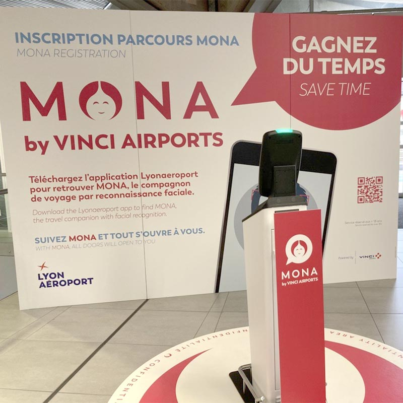 IDEMIA and Resa Airport Data Systems were chosen by VINCI Airports to come up with a world first: a wholly contactless and biometrics-based passenger experience in Lyon Saint-Exupéry Airport