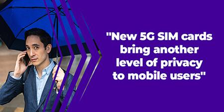5G SIM card privacy key IDEMIA