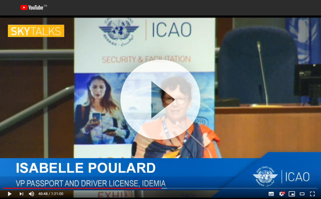 Isabelle Poulard ICAO 2019 conference video