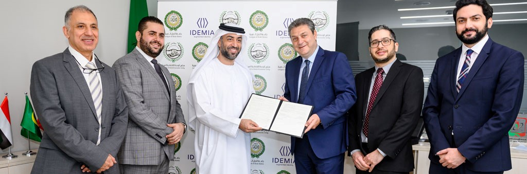 The Council of Arab Economic Unity signs an agreement with IDEMIA for security solutions