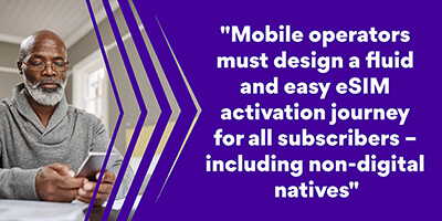 Easy eSIM activation - Mobile Operators IDEMIA