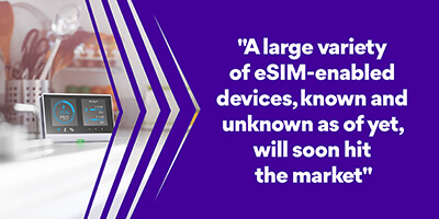 eSIM-enabled devices IDEMIA