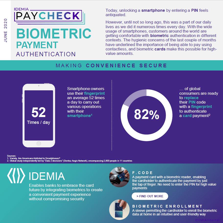 IDEMIA PayCheck June 2020