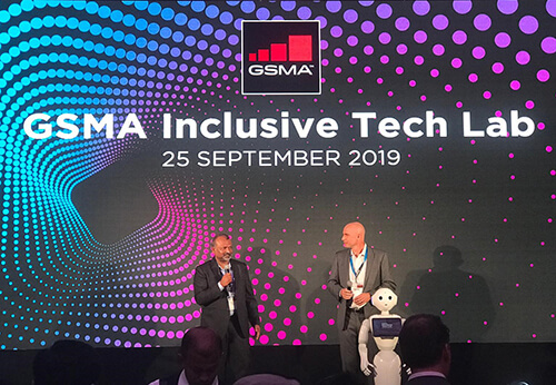 Launch of GSMA Inclusive Tech Lab