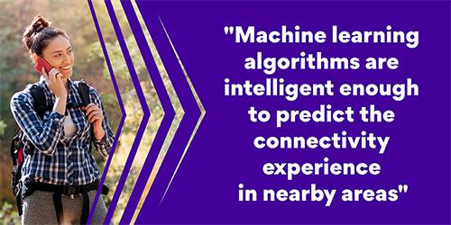 Machine learning algorithms connectivity