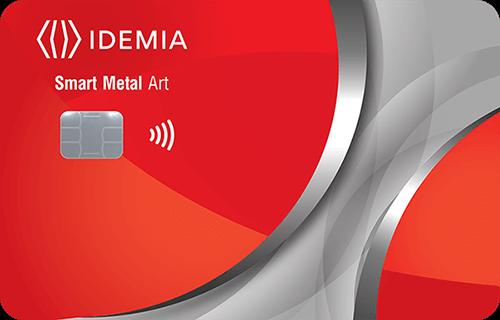 Smart Metal Art paymend card IDEMIA