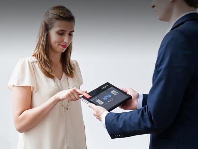 2nd generation biometric tablet: MorphoTablet™ 2