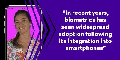 Widespread adoption of biometrics through smartphones