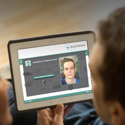 Morpho GSMA Mobile Connect integrates biometric authentication