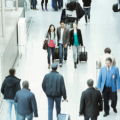 IDEMIA biometric boarding pass smooth airport experience