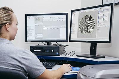 IDEMIA fingerprint matching platform