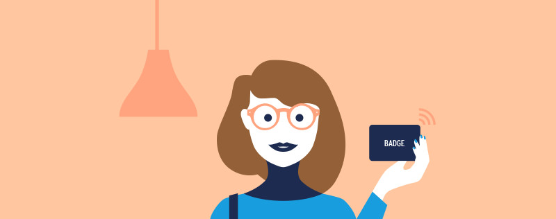 Juliette's week - Smart Card badge