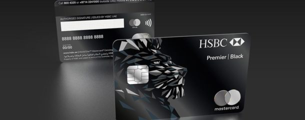 IDEMIA delivers the new metal HSBC Black Credit Card