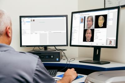 Morpho facial identification system