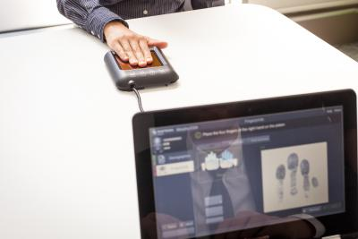 MorphoTop Slim fingerprint capture device
