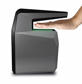 MorphoWave Compact fingerprint capture