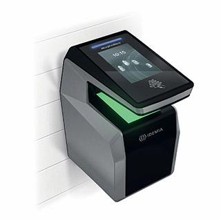 MorphoWave Compact wall fingerprint sensor