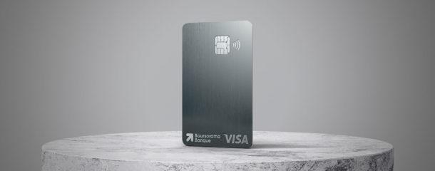 IDEMIA fournit les cartes de paiement en métal à Boursorama Banque, pour le lancement de l'offre haut de gamme ULTIM METAL