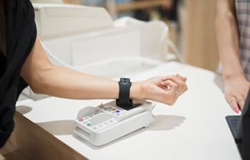 Contactless payment-wearables
