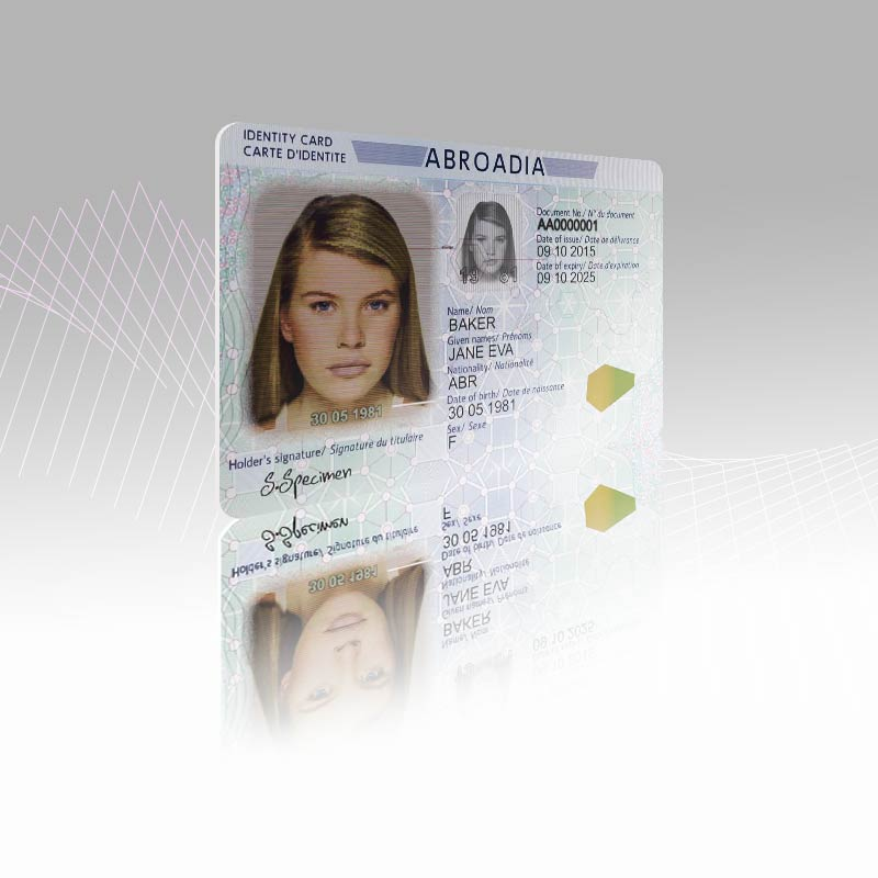 ID security features IDEMIA