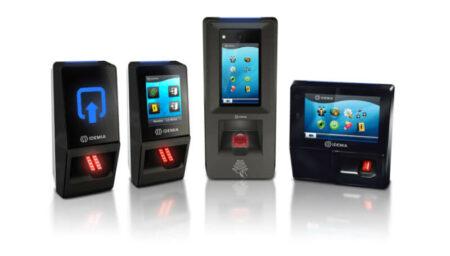 Fingerprint access control range