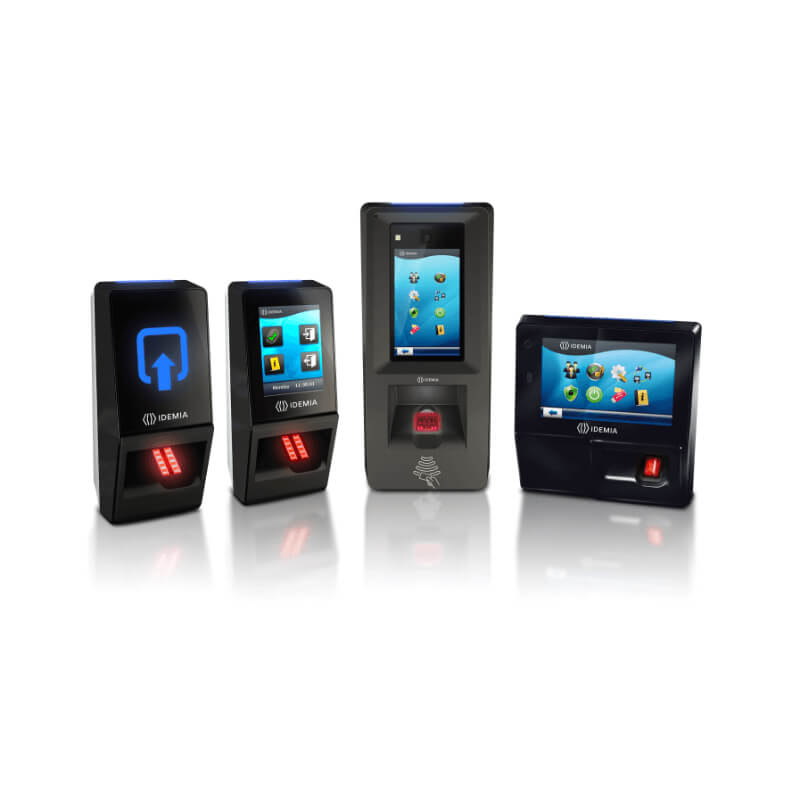 Fingerprint access control range IDEMIA