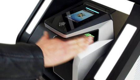 Contactless fingerprint acquisition for travel
