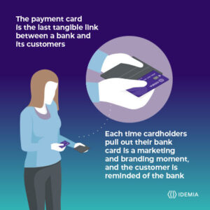Payment cards reinforce branding IDEMIA