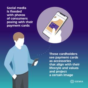 Payment cards social media impact IDEMIA