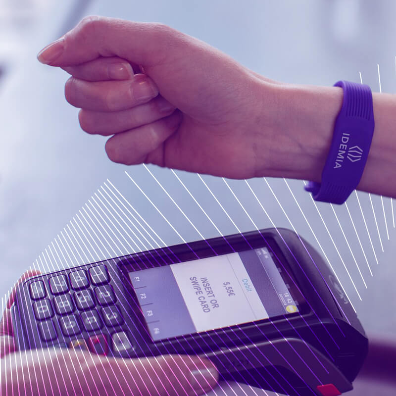 Wearable payment devices IDEMIA